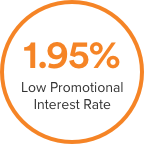 Low Promotional Interest Rate