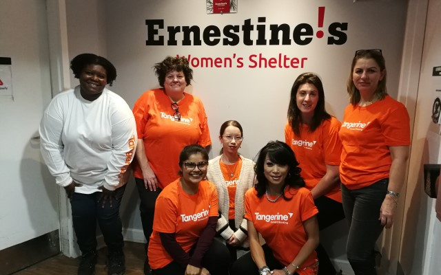 Link to Ernestine's Women's Shelter's website, opens in a new tab